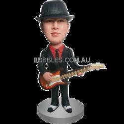 Personalised Guitar Buddy Bobble Head