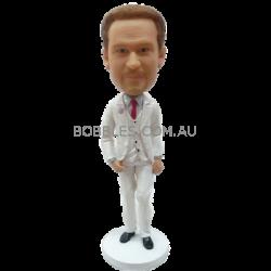 Personalized Bobblehead Fashion Man