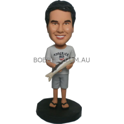 Personalized Fisher Bobble Head