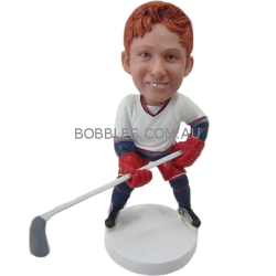 Personalized Hockey Buddy Bobblehead