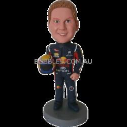 Redbull F1 Racer  Custom Bobblehead