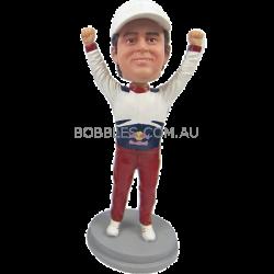 Redbull Racer Custom Bobblehead