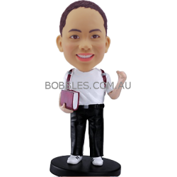 School Boy Custom Bobblehead