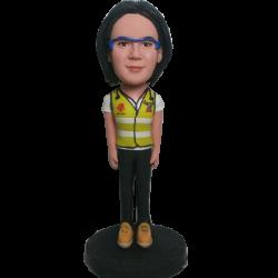 Security Vest Woman Bobble