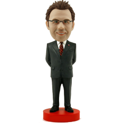 Smart Man Personalised Bobble Head