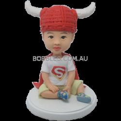 Super Baby Custom Bobblehead