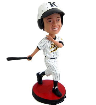 Baseball Boy Custom Bobblehead