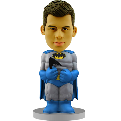 Batman Customised Bobble Head