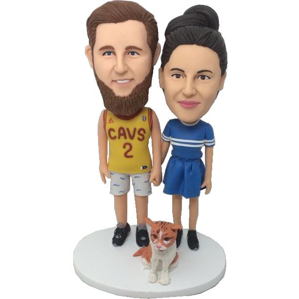Boyfriend and Girl Friend Custom Bobbles
