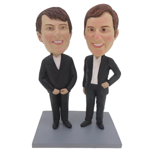 Brothers Custom Bobblehead for Gays