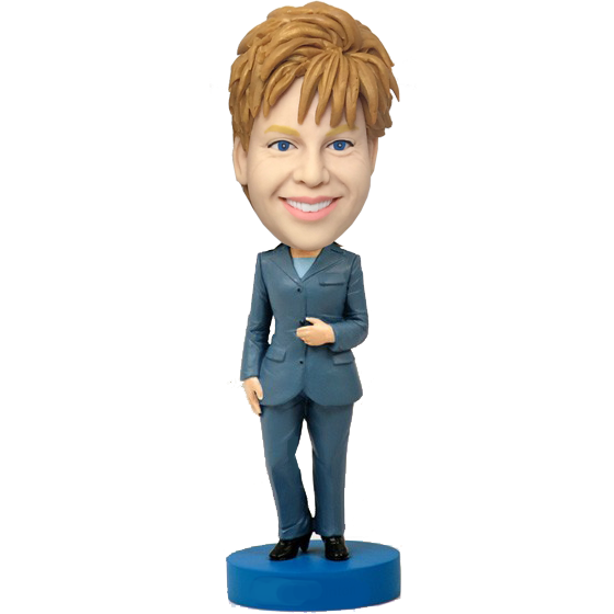 Business Woman Bobblehead