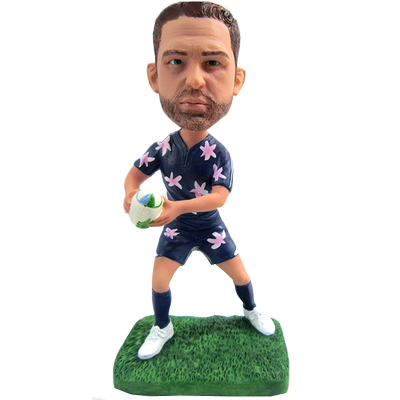 Casual Footy Buddy Bobblehead