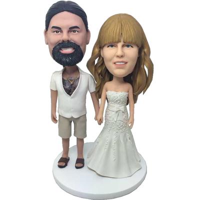 Casual Groom Wedding Bobbleheads