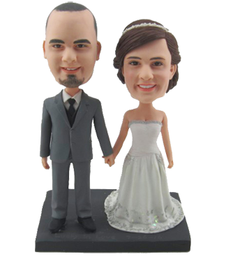 Classic Wedding Cake Topper