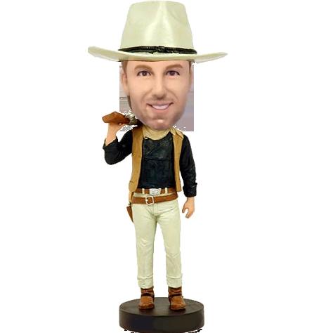 Cowboy Custom Bobblehead