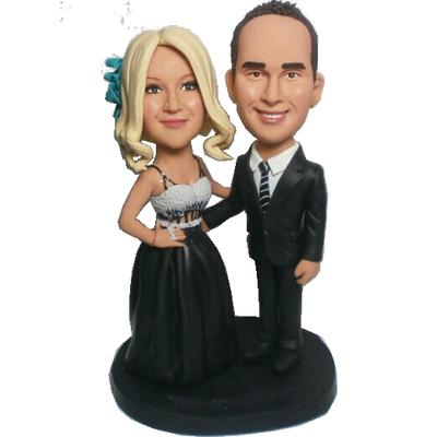 Crace Couple Wedding Bobblehead