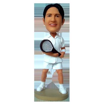 Custom Bobble Head Tennis Man