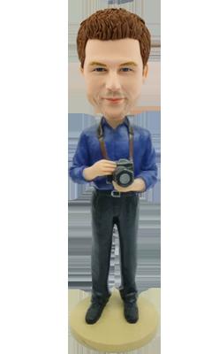 Custom Bobblehead Camera Man