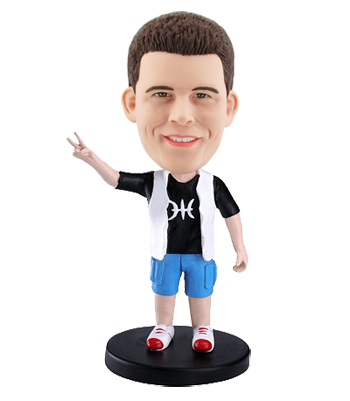 Custom Bobblehead Casual Man