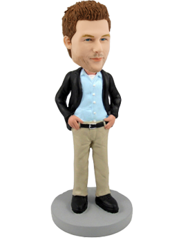 Custom Bobblehead Father