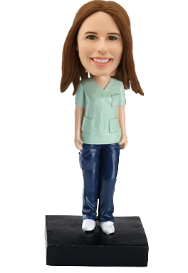 Custom bobblehead Female Nurse