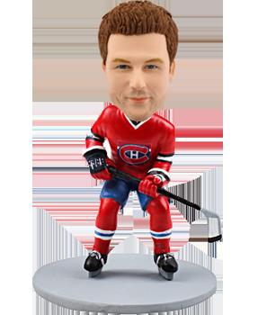Custom bobblehead Montreal Canadians hockey