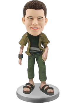 Custom bobblehead tourist