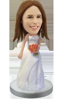 Custom Bride Bobble head