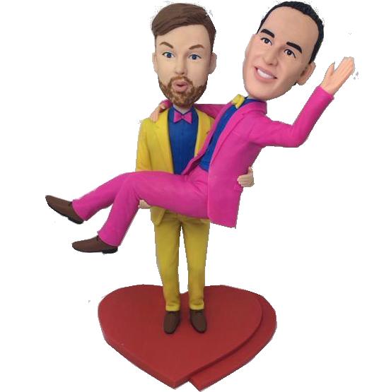 Custom Brothers Bobbleheads