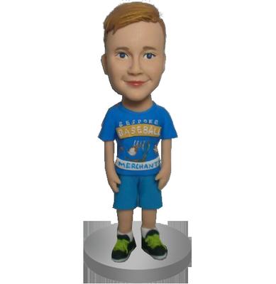 Custom Casual Boy Bobble Head