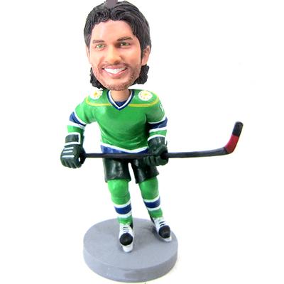 Custom Hockey Player Bobblehead