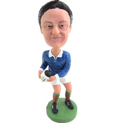 Custom Rugby Player Bobblehead