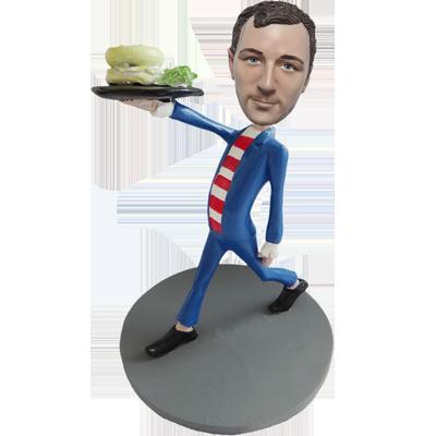 Custom Waiter Bobblehead