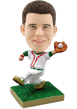 Customised bobblehead Baseball Pitcher