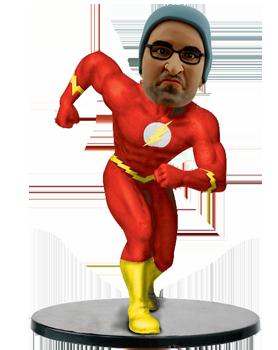Customised Flash Bobblehead