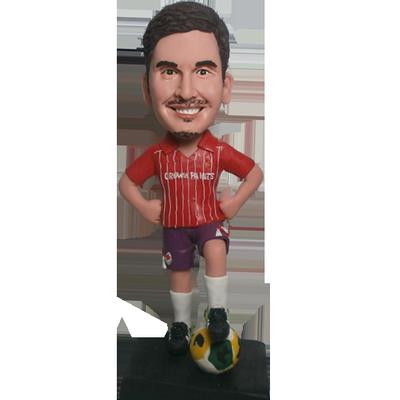 Customised Football Buddy Bobblehead