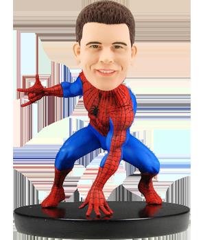 Custom Bobblehead Spider-Man