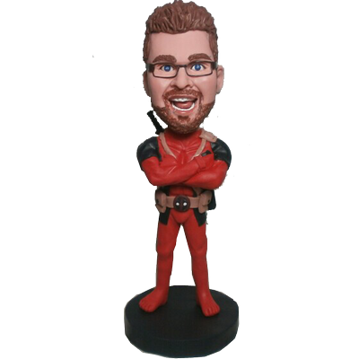 Deadpool Custom Bobblehead