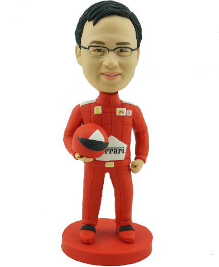 F1 Fan Custom Bobblehead