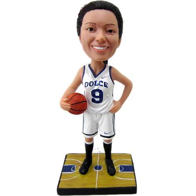 Female Basketball Bobble Head
