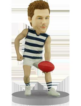 Personalized Australian Football Bobble Head