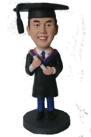 Custom Graduation Bobblehead