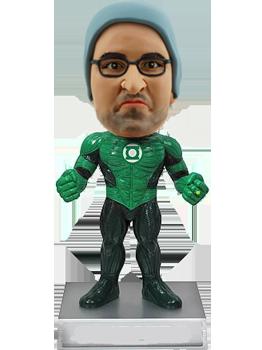 Customised Green Lantern Bobblehead