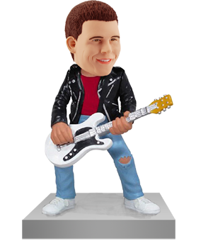 Custom Bobblehead Guitarist