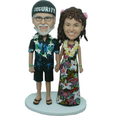 Hawaii Style Wedding Bobbles