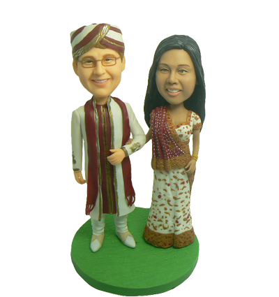 Indian Custom Cake Topper