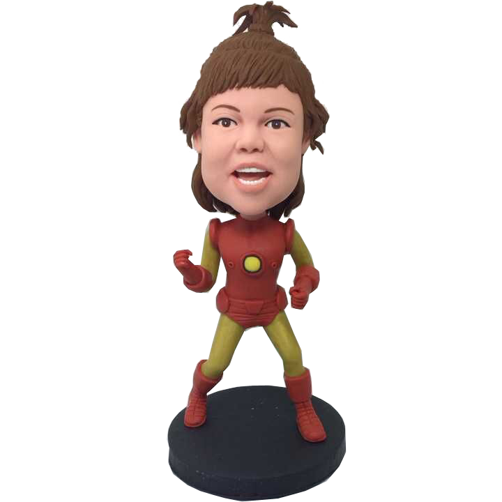 Iron Girl Custom Bobble Head