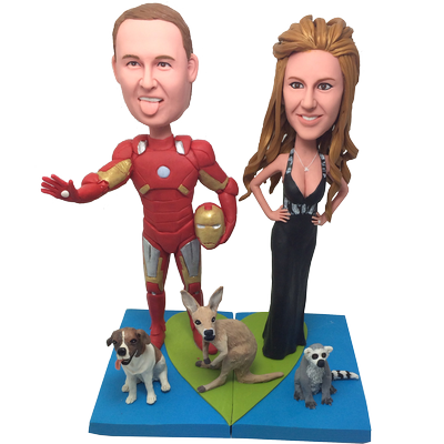 Ironman Wedding Cake Topper