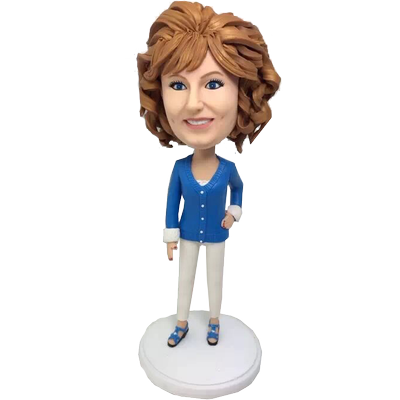 Loving Mother Custom Bobble Head