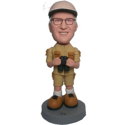 Male Adventure Custom Bobblehead